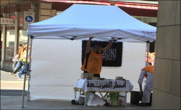 Genève: Sympathisants d'al-Qaïda, ils s'affichent en ville