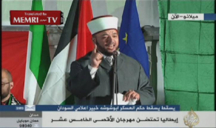 Vidéo sur Al Jazeera: Un Imam de Jérusalem demande aux Musulmans d'envahir Israël !