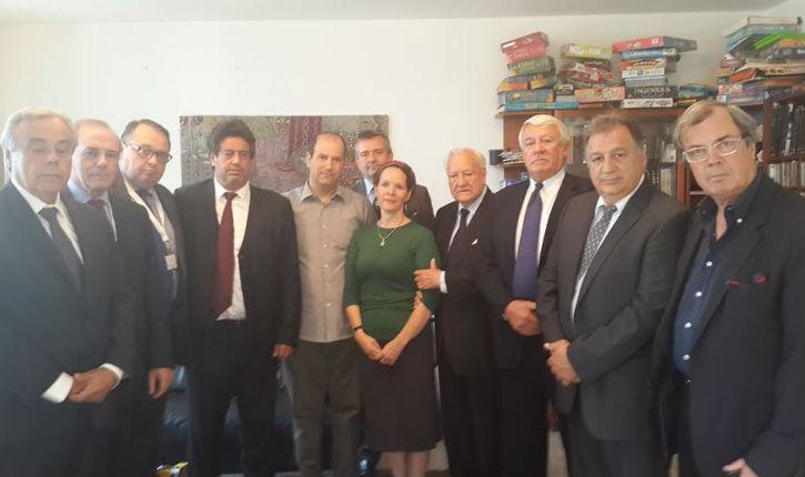 Dix députés français rencontrent les parents d'un otage israélien à Jérusalem