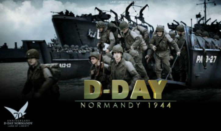 D Day: 70ème anniversaire du débarquement en Normandie du 6 juin 1944.