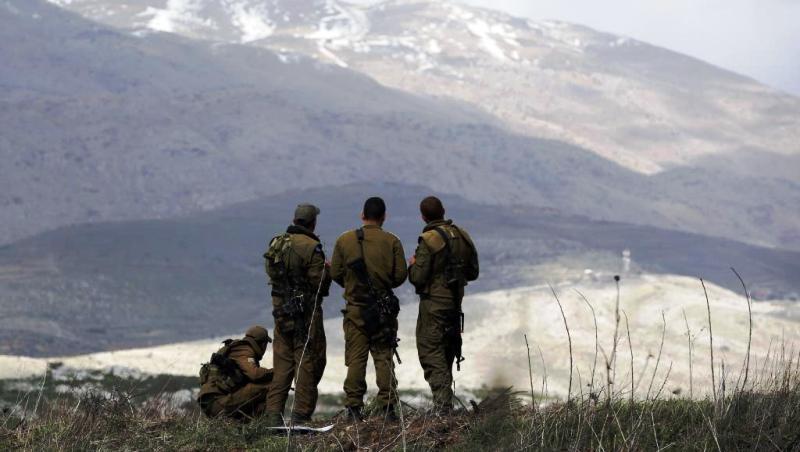 Le Golan syrien sous contrôle des rebelles.
