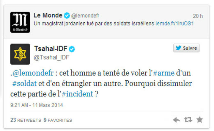 Enlèvement de « colons »: le journal Le Monde dérape sur les otages israéliens et se corrige