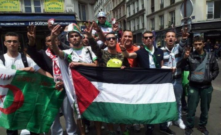 Les supporters algériens encouragent le kidnapping de Juifs en plein Paris