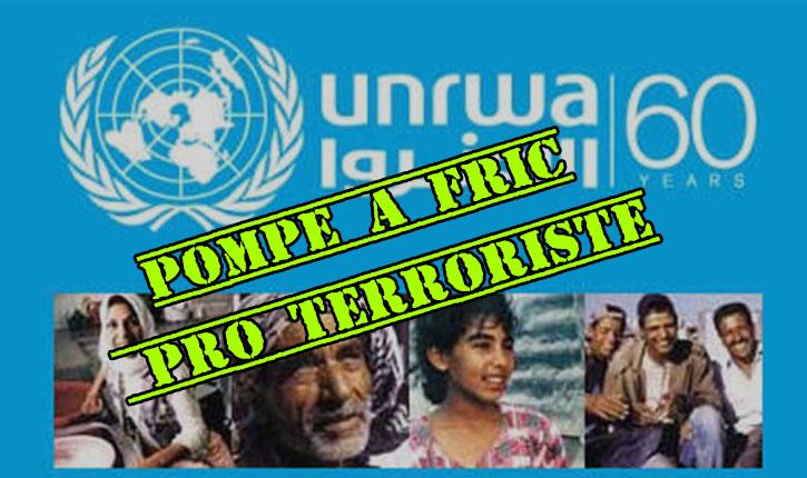 L'UNRWA: l'imposture des réfugiés palestiniens devrait bientôt aboutir à sa fin