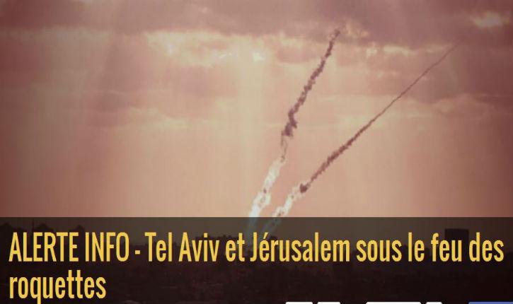Alerte Info : Israël sous le feu,  le Hamas utilise sa population en bouclier humain