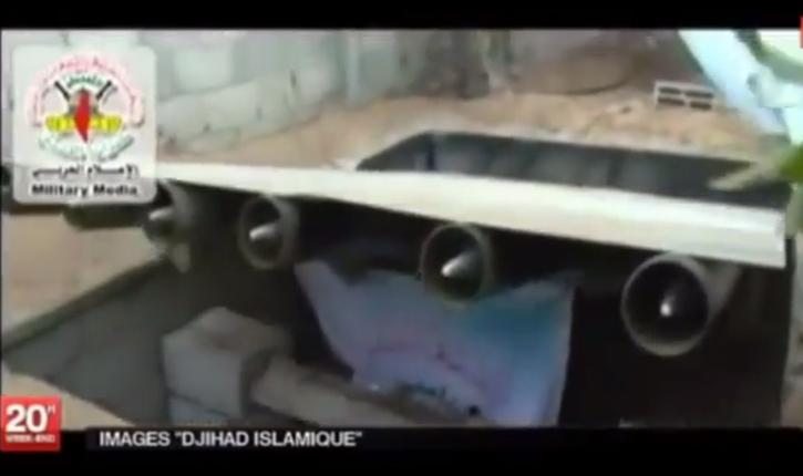 Civils à Gaza: les rampes de lancements cachées au milieu des habitations