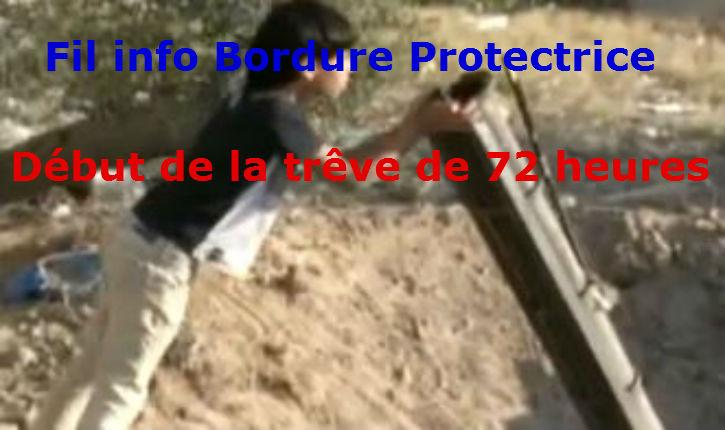 Fil Info Israël suite : « Opération Bordure protectrice » mise à jour régulière, 5ème partie
