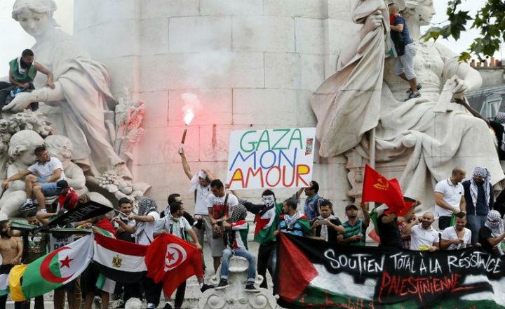 Manifestation pro-Hamas (Paris,26/07/14) : compilation d'images à voir pour savoir