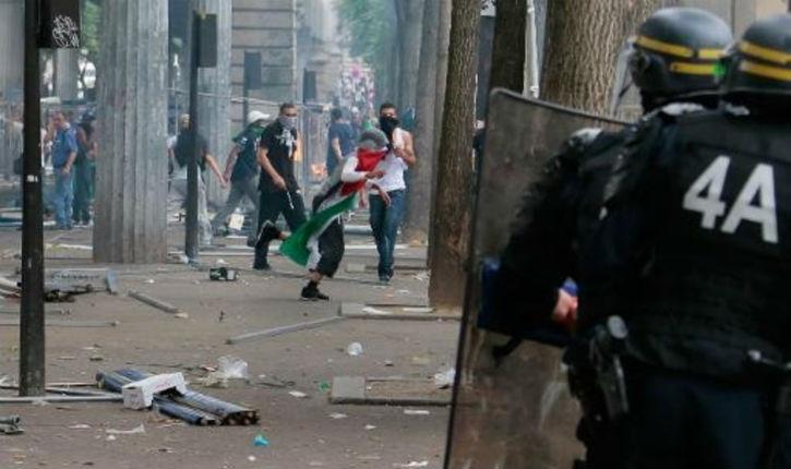 Vidéo: l'Intifada des islamistes continue à Paris malgré l'interdiction de manifester !