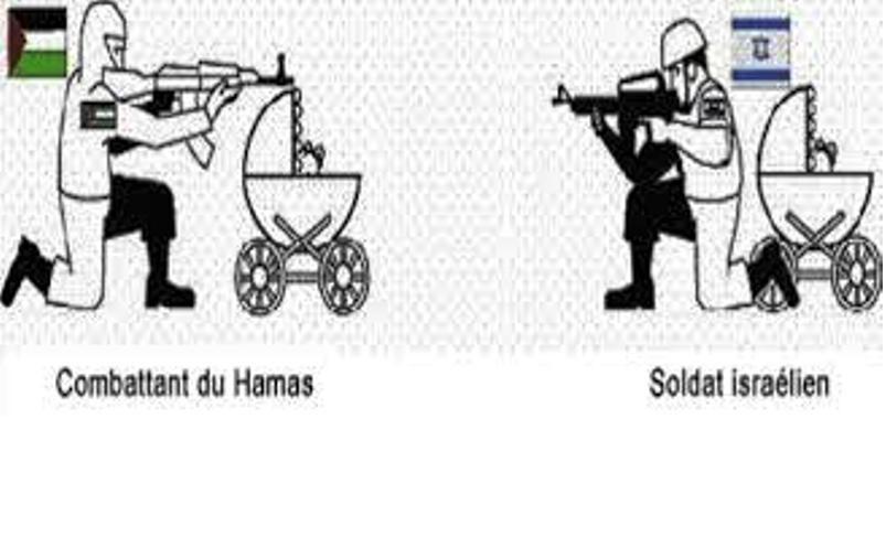 C'est le Hamas avec sa technique du «bouclier humain» qui est responsable des pertes civiles à Gaza