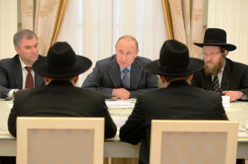 Vladimir Poutine : «Je soutiens Israël»