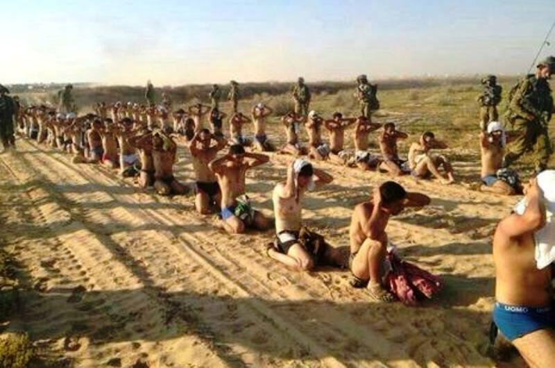 150 combattants dont 70 terroristes du Hamas se rendent à Tsahal.
