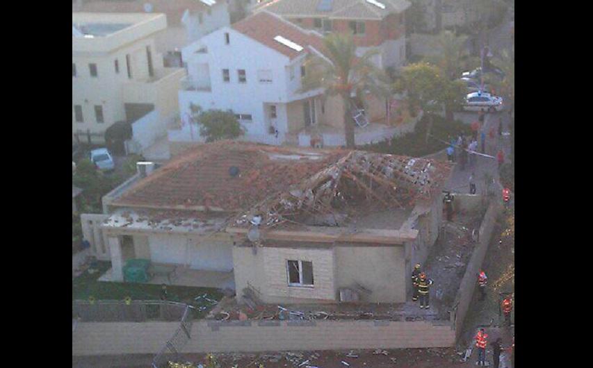 [Vidéo] Une roquette touche un jardin d'enfant à Ashdod, et 69 personnes à l'hôpital à Ashkelon