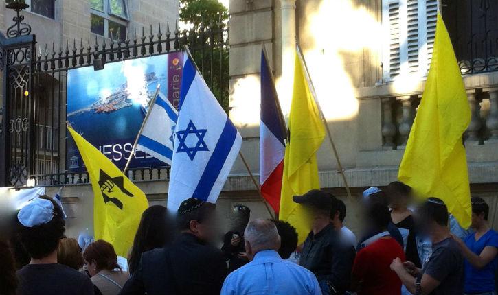 L'ombre d'une étoile jaune sur la Ligue de défense juive