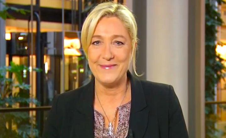 Marine Le Pen justifie l'existence de la Ligue de défense juive (vidéo)