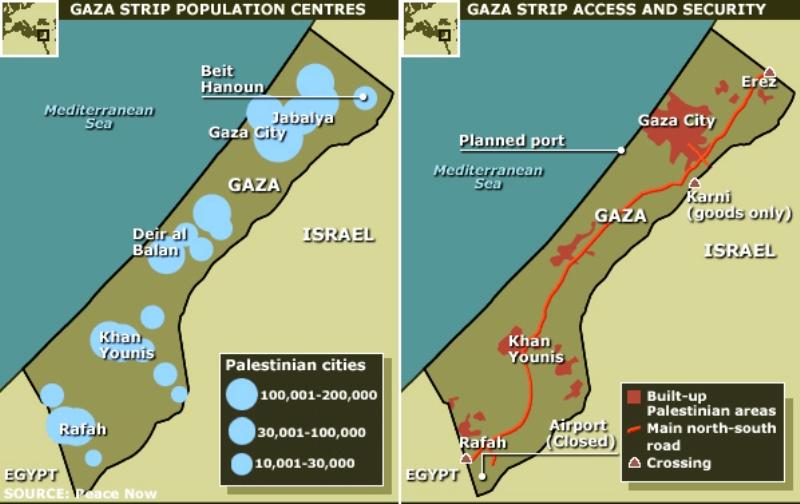 Les espaces vides de la Bande de Gaza. Par Alan M. Dershowitz