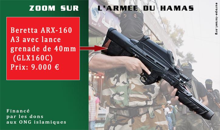 Les photos que les médias ne montreront jamais sur l'armée et l'équipement du Hamas
