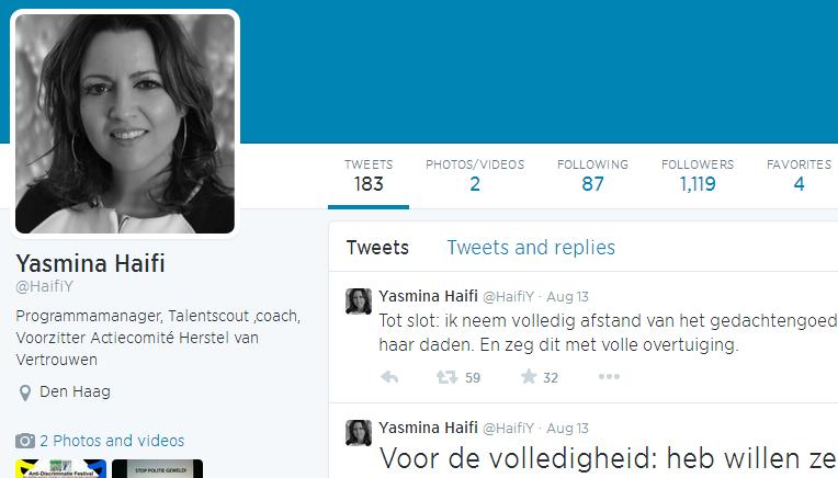 [MàJ: licenciée] Une employée du ministère de la justice Hollandais: ISIS est une conspiration sioniste