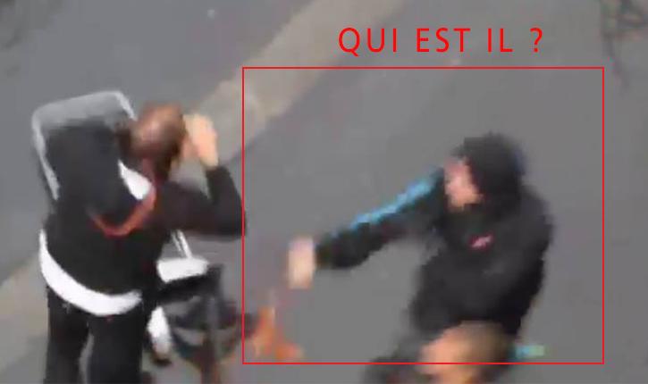 Appel à témoin: nous recherchons activement un agent de sécurité de la manifestation pro-palestinienne du 13 juillet 2014 à Paris