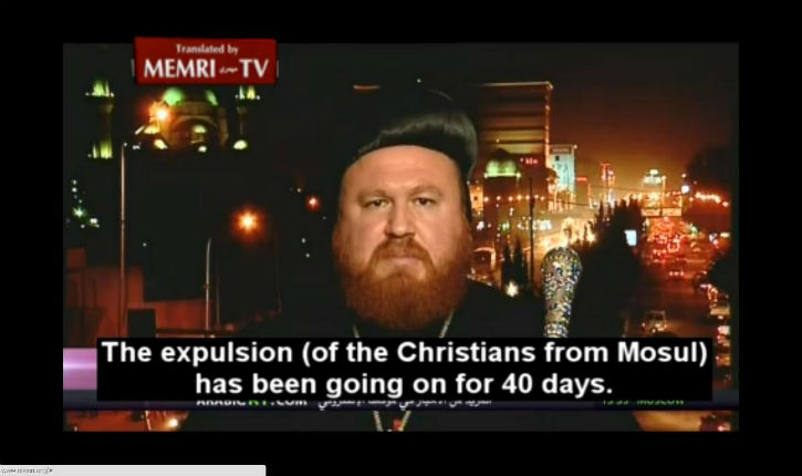 L'archevêque Nikodimos Daoud de Mossoul : L'Etat islamique commet un génocide contre les chrétiens d'Irak