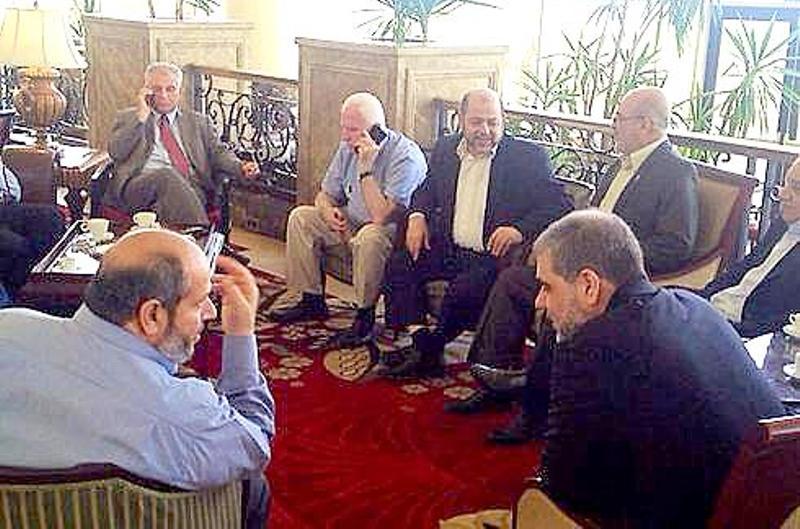 Au Caire, on a discuté d'un accord intermédiaire limité.