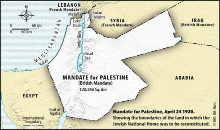 2 novembre 1917 : Lord Balfour annonce la création d'un Foyer National Juif en Palestine
