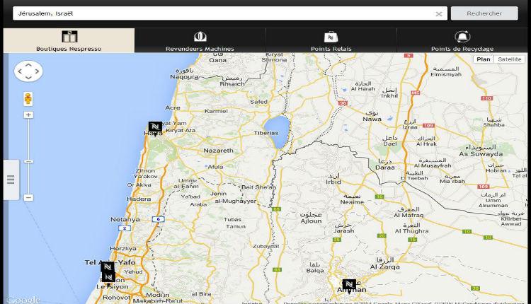 Succès de l'action d'Europe Israël : Nespresso rectifie ses informations concernant Israël