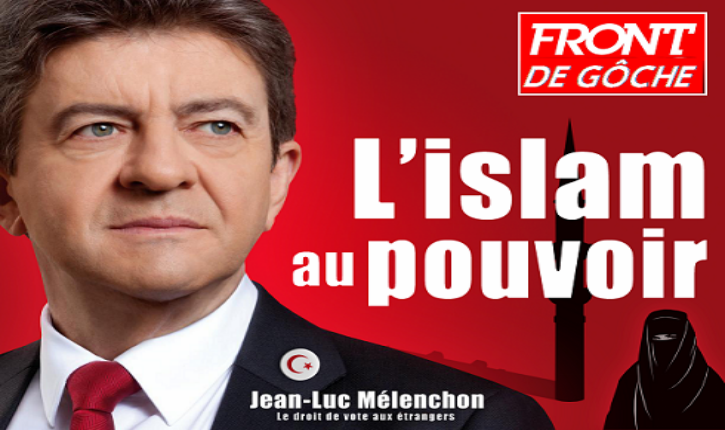 Mélenchon confirme sans équivoque l'existence d'un axe islamo-gauchiste (audio)