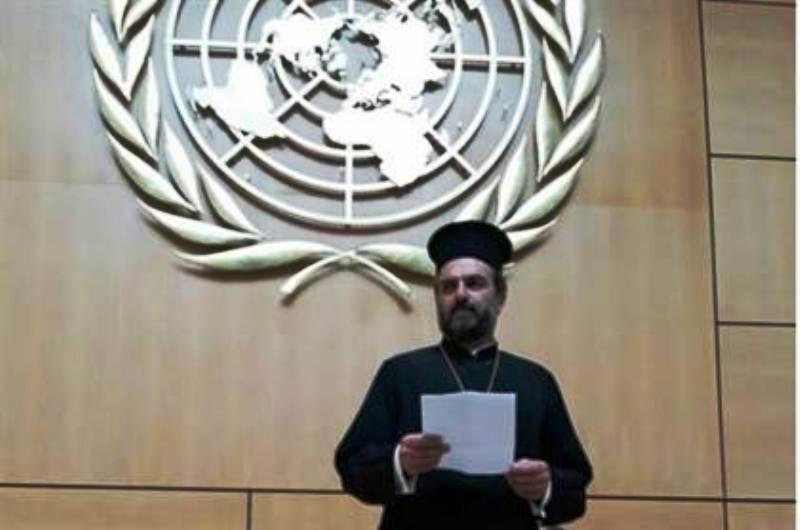 Le Père Gabriel Nadaf à l'ONU : 'Israël le seul endroit au Moyen-Orient où les chrétiens sont en sécurité'