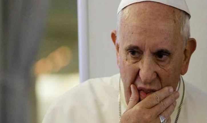 Le pape aux juifs: «Vous avez souffert, à présent c'est notre tour»