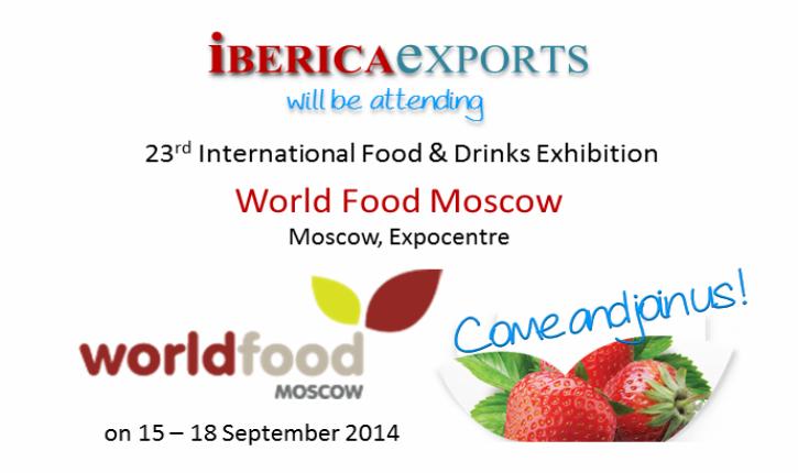 Israël participe au salon international »World Food Moscow»