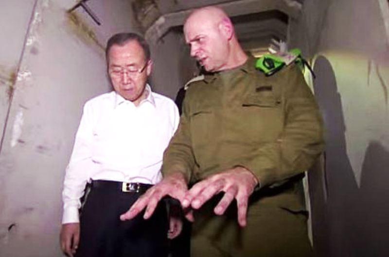 """Ban  Ki-moon donne un coup de pouce au Hamas et plaide pour """"une Palestine réunifiée"""" (Vidéo)"""