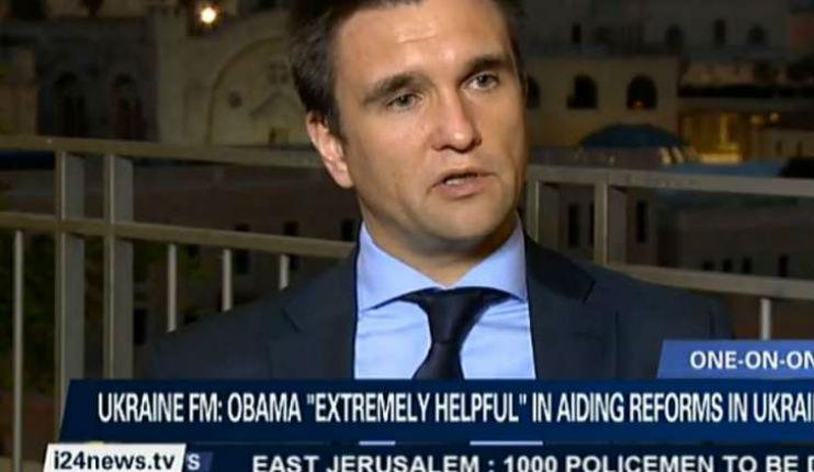 «Il n'y a pas d'antisémitisme en Ukraine» (Pavlo Klimkin)