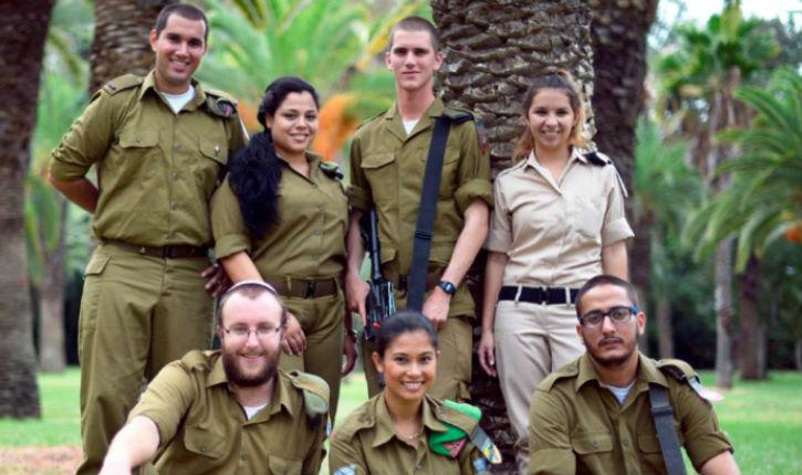 7 soldats venus de 7 pays pour défendre Israël
