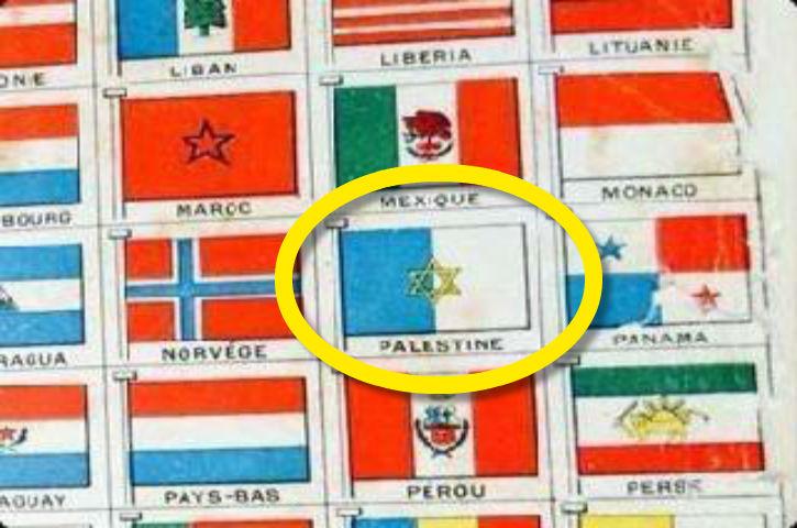 Pourquoi les Arabes palestiniens cachent le drapeau de la Palestine de 1939 ?