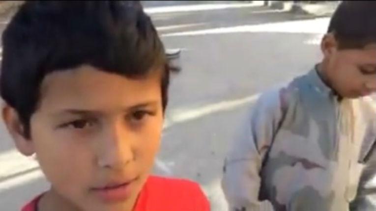 Syrie, EI : deux enfants français en armes «toi tu représentes mohamed mérah» (vidéo)