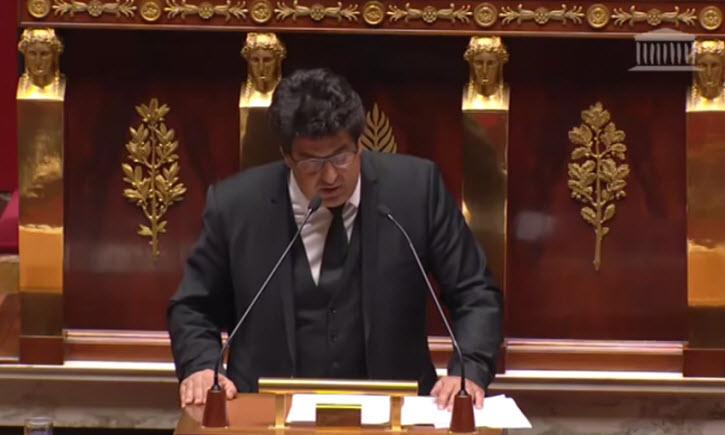 Assemblée Nationale: Meyer Habib dénonce l'obsession anti-israélienne de l'extrême-gauche (communistes et Insoumis)