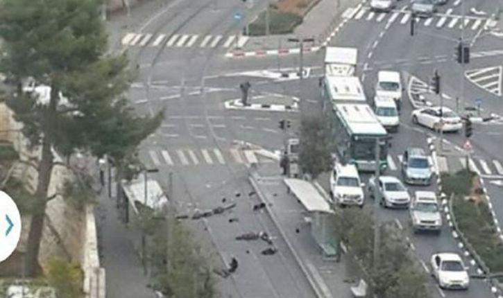 Flash info : nouvel attentat à la voiture bélier à Jérusalem