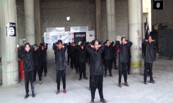 [vidéo] Etat islamique : camp d'entraînement jihadiste pour enfants