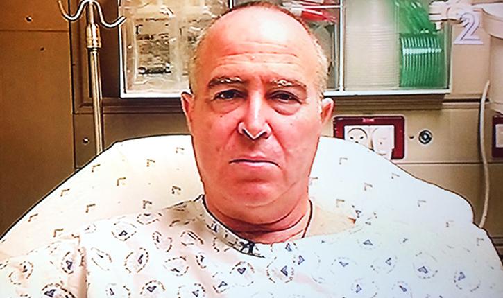 Gilad Goldman l'homme qui a fait fuir le terroriste au couteau, Tel-Aviv