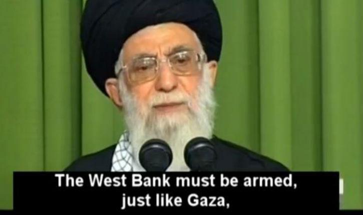 [vidéo] Le guide suprême iranien prône le chaos militaire à Gaza et à Ramallah et revendique avec provocation l'option nucléaire