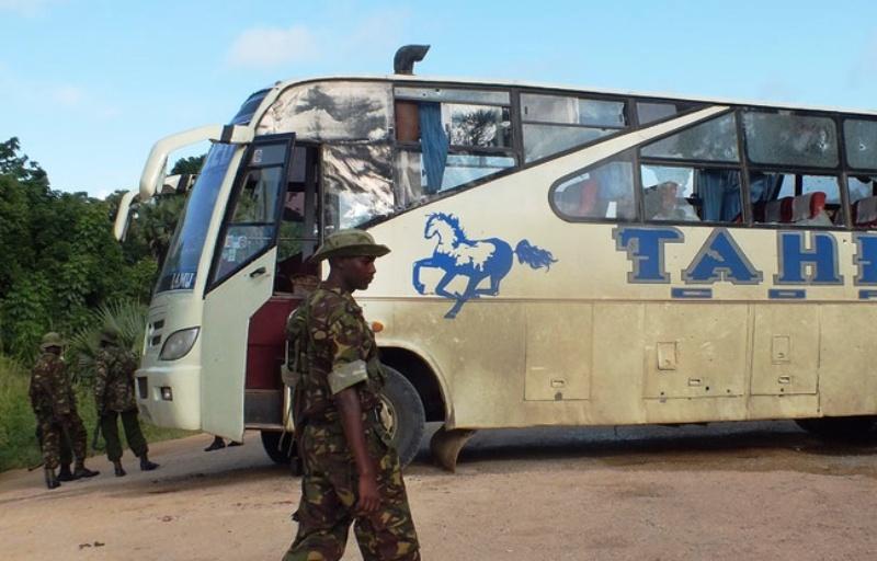 Les Shebabs de Somalie, revendiquent le massacre de 28 chrétiens, passagers d'un bus au Kenya