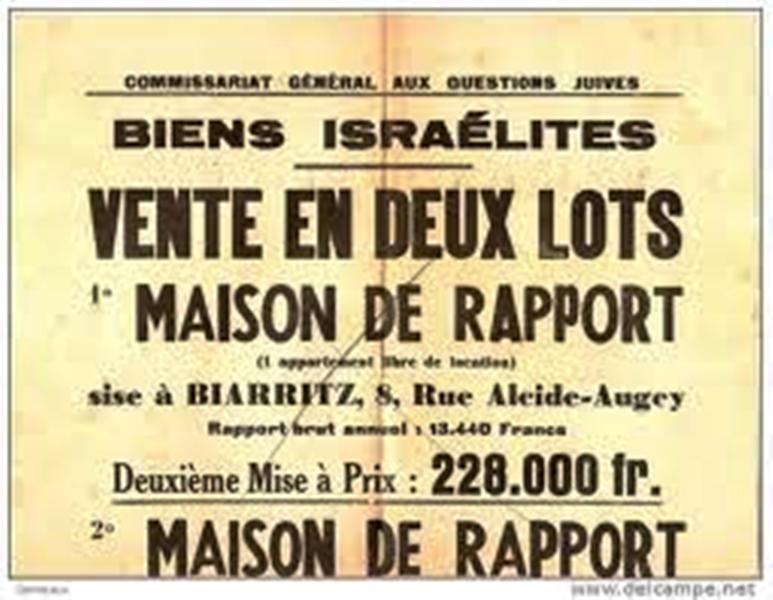 Existe-t-il en Europe un Commissariat général à la question juive ? Par Victor Perez