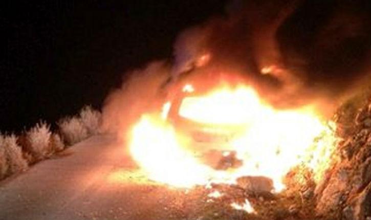 Attaque islamobarbare à coups de cocktails Molotov contre une famille juive sur une route de Judée et Samarie