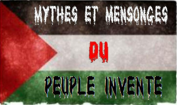 « Arabes-palestiniens » : Une tentative d'appropriation de l'Histoire Juive