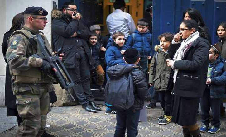 Antisémitisme: Graves menaces de carnages contre les « enfants » et les « vieux » juifs reçues dans une école et une librairie juives !