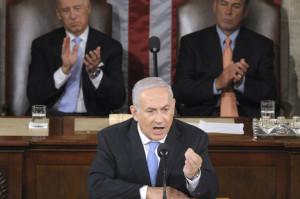 Benjamin Netanyahu au Congrès américain
