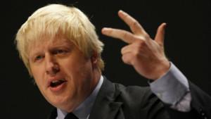 Boris Johnson maire de londres