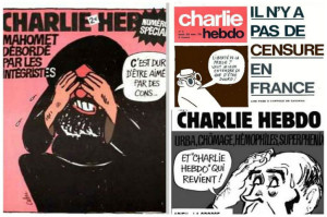 Charlie Hebdo islamophobie délit de blasphème