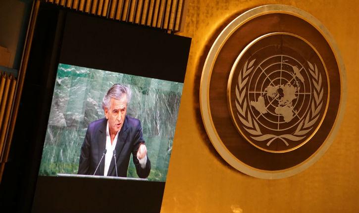 Session exceptionnelle à l'ONU consacrée à l'antisémitisme. Discours de Bernard Henri Levy